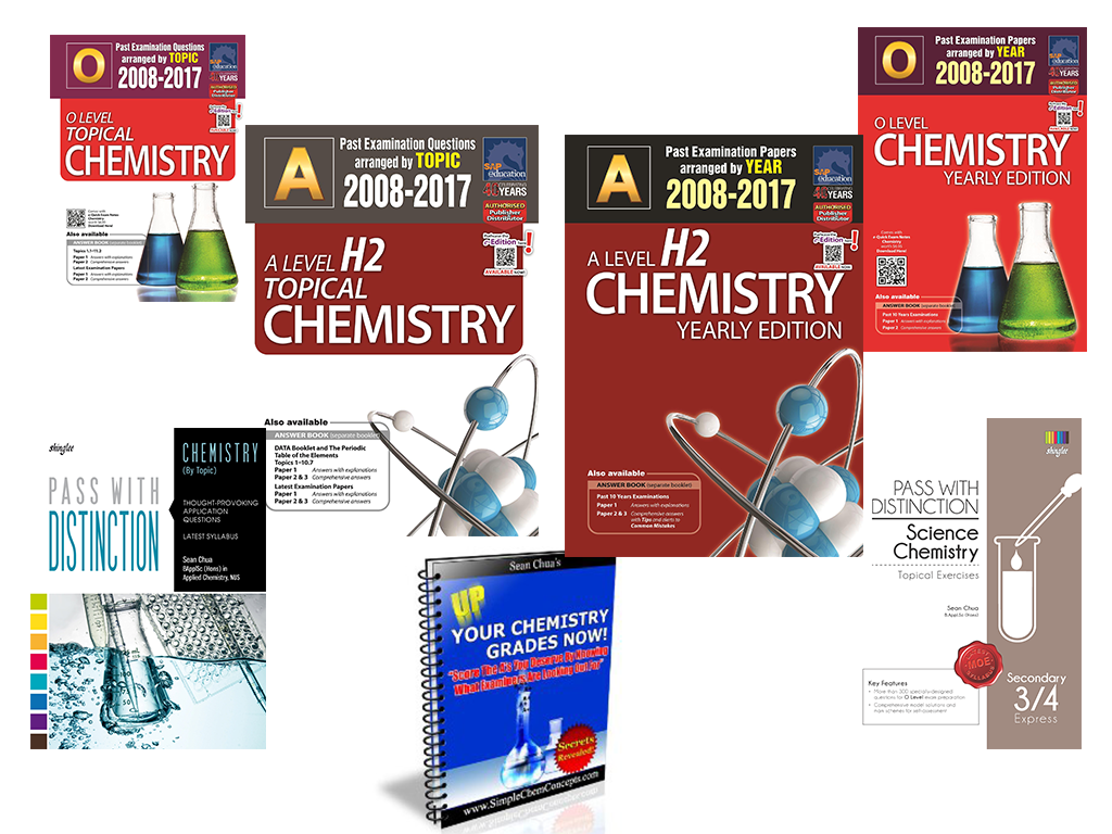 Ten Year Series Book Author Chemistry Specialist Sean Chua Chemistry Tuition Tutor Singapore