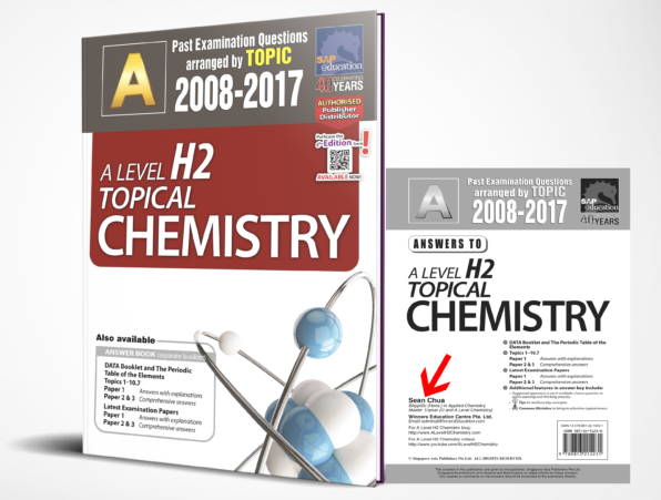 JC A-Level H2 Chemistry Ten Years Series Topical Edition Book