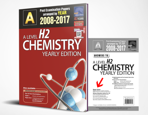 JC A-Level H2 Chemistry Ten Years Series Yearly Edition