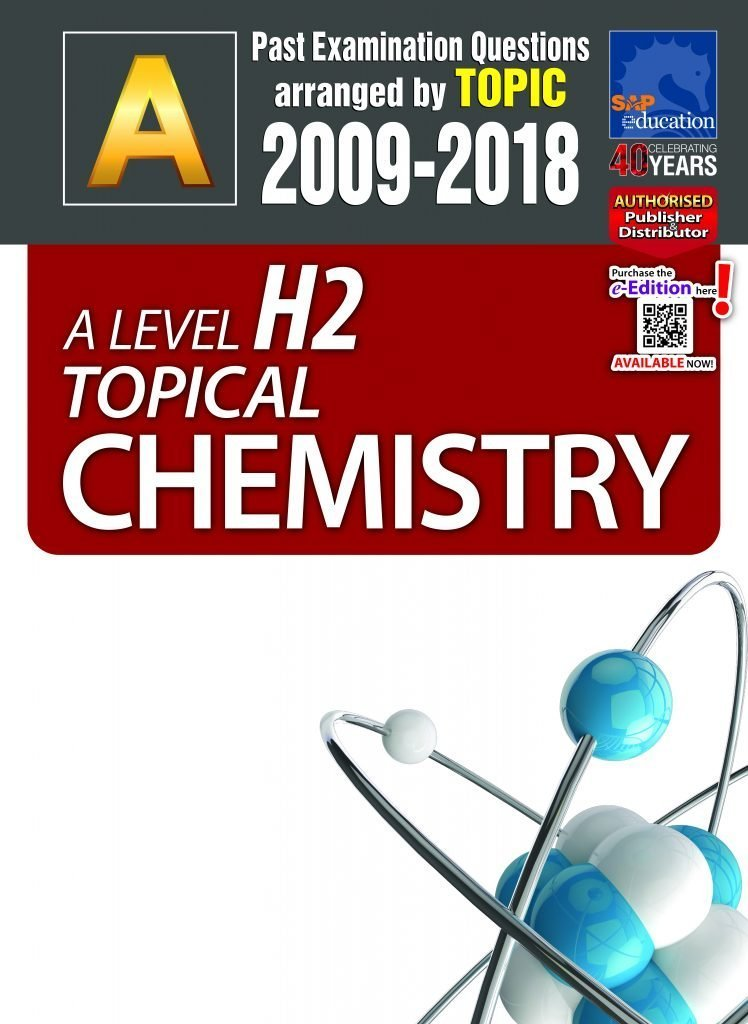 A-Level JC H2 Chemistry Tuition