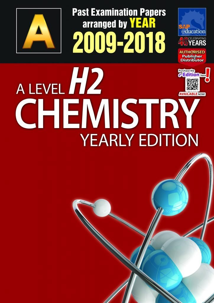 A-Level JC H2 Chemistry TYS book, A-Level JC H2 Chemistry tuition